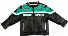 kids motorcycle leather jacket for winter