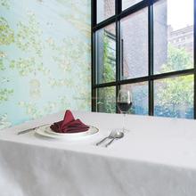 cheap 100%cotton wedding table cloth