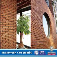 Cheap price clinker bricks,240x60x10mm Natural red clay clnker tile