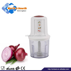 Professinoal design food processor mini plastic electric onion chopper
