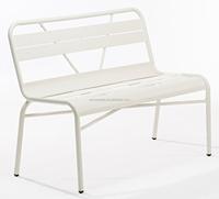 outdoor aluminium bench