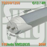 rgb flexible led neon tube fluorescent 1200mm led tube Kongfu led neon tube