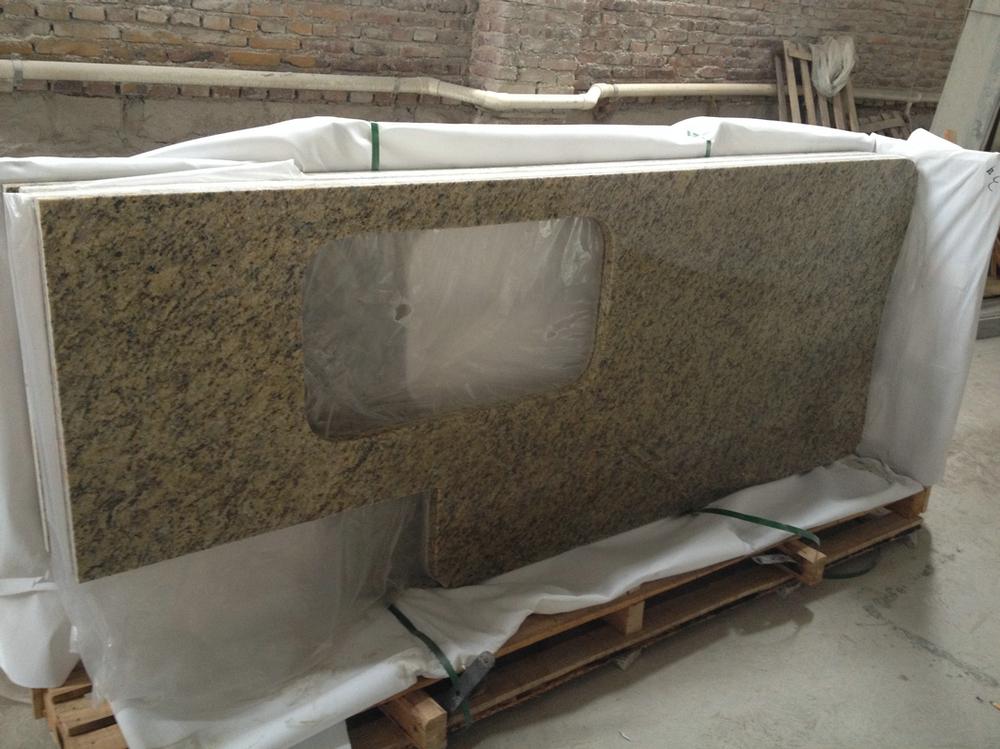 Pulido cocina encimera de granito de precio por metro for Precio metro cuadrado encimera granito