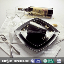 China new design popular stoneware commercial dinnerware set