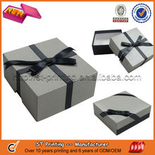 2014 Hot sell paper gift box,wedding gift box
