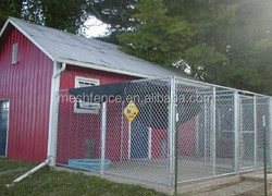 Quick and easy assembly dog kennel designs Hot dipped galvanized dog cages