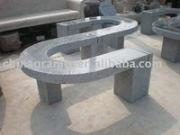 decoration outdoor stone bench