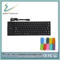 color 85 teclas de función del teclado de silicona de alta calidad