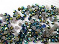 2015 new strass hotfix cristal beads flat back hotfix rhinestones for iron on transfers