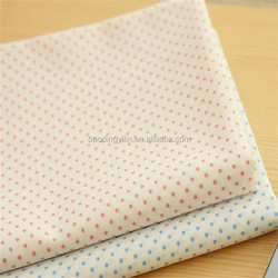 T80/C20 45s 133*72 Square Dots Printed Reactive Dyed Fabric