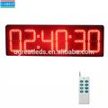 led fabrica en china bajo precio al aire libre de control de rf led rojo industrial temporizador de cuenta regresiva