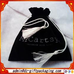 Factory Directly Velvet Jewelry Pouch /Large Velvet Drawstring Bags /Printed Velvet Pouch