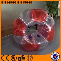 high quality adult 1.5m PVC/TPU bubbler soccer for sale
