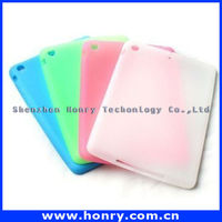 2015 new arrival for ipad mini tpu case, back cover tpu case for ipad mini