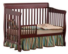 natural wood baby cot
