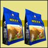 FDA food grade 10g-2kg printing zipper side gusset bag