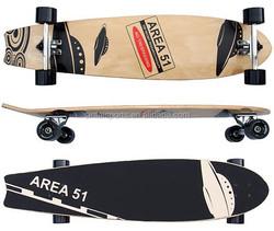 Skateboard wooden cruiser TWIN TIP RIDER LONGBOARD