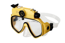 720P underwater camera Up to 30M Mask Diving Glasses hd sport action cam