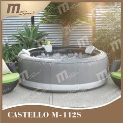 Bubble spa/ portable inflatable spa/ bubble spa / inflatable whirlpool / hot tub MSpa Castello M-112S 4 person