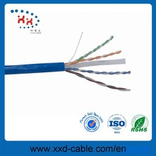 Made in China Pure copper UTP cat 6 communiction cable lan