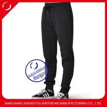 Wholesale 100% cotton custom jogger sweatpants for men