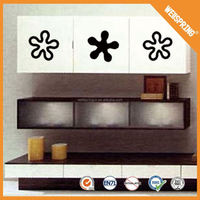 Popular EN71 adornment home decor wall stickers decals for furniture stickers decals