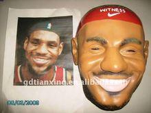 real latex face mask, real character mask