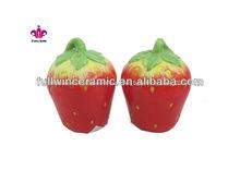 Stawberry de cerámica sal& pimienta
