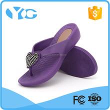 rhinestone adorn fashion women flip flop wholesale