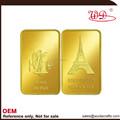 benutzerdefinierte großhandel goldbarren