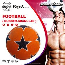 cheaper rubber soccer ball for Middle East market