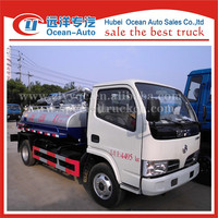 cheap min trucks spetic tank fecal suction truck for sale in china