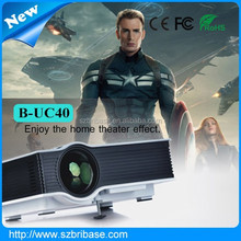 Top quality Cheapest 800:1 800*480 high resolution mini portable projector for home theater