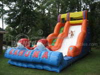 Hot sale good quality big kahuna inflatable water slide with CE approved for outdoor use