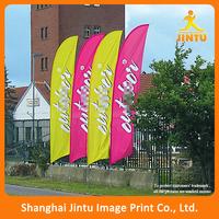 Outdoor sport advertising flag, event advertising roadside free standing flag