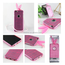 """For iPhone 6 Mobile phone cases cover rabbit TPU soft cover 4.7"""" , tpu cover case for iphone 6 Plus 5.5 inch"""