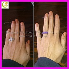 Cheap promotional gifts rubber silicone women wedding ring