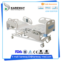 Manufacture three functions inpatients motor driven electric bed