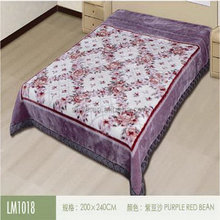 top qualità popolare patchwork coperta a maglia