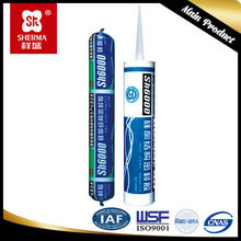 Drying silicone sealant for windows and doors