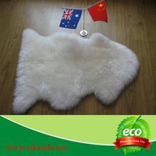 genuine sheepskin fur muslim prayer rug