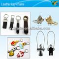 J- coréia couro porta-chaves de metal e material de liga leve