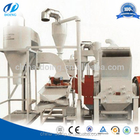 professional manufacture for scrap copper cable crusher / separator / waste copper wire recycling machine