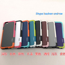 Durable TPU+PC Fashion Dual Color Diamond Pattern Mobile Phone Shell For Iphone 6