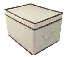 good quality custom printed foldable non woven storage Box and Bin