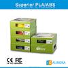 Buy JGAURORA 3d printer, filament ABS/PLA at free , hottest 1.75mm PLA filament 1kg/roll for desktop 3d printer
