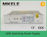 S-60-12 60w 12v switching power supply 12v 5a power supply circuit 12v 5a cctv switching power supply