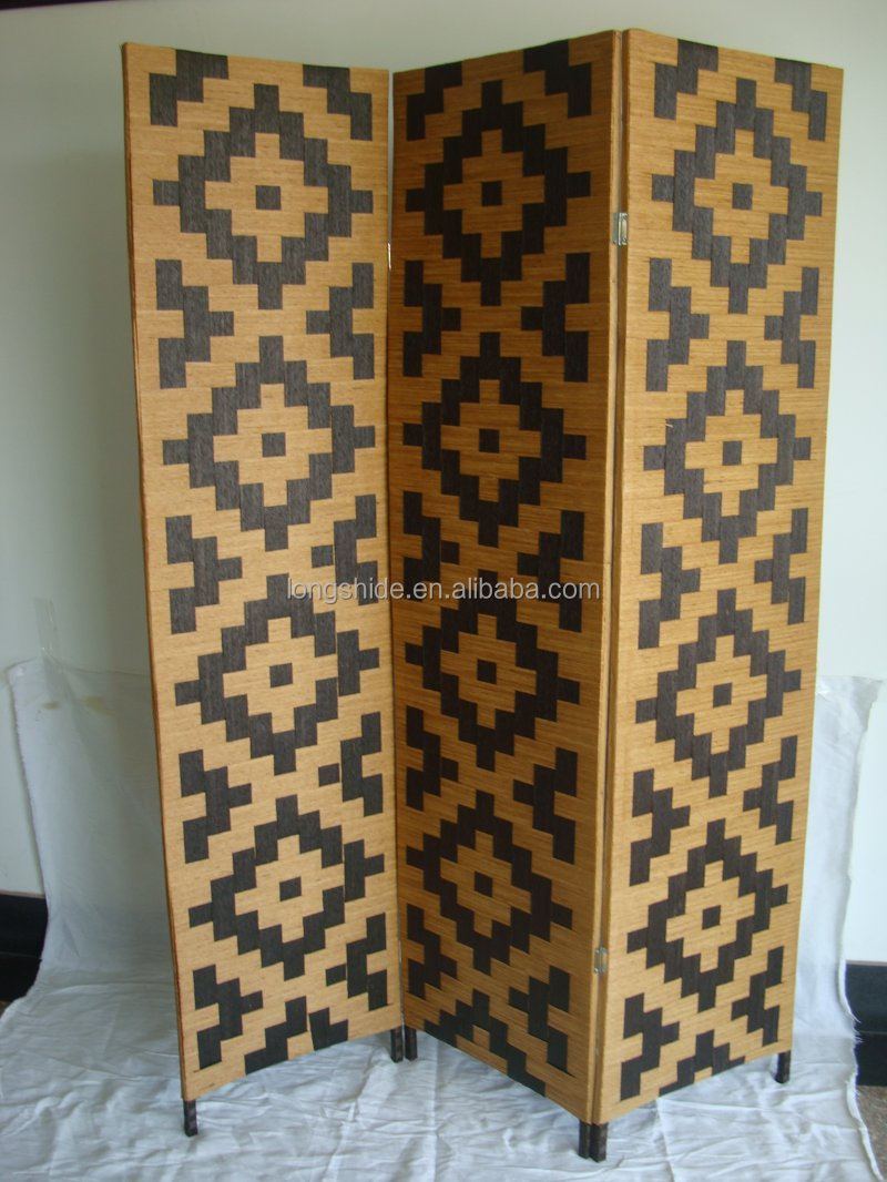 New design wholesale handmade woven custom size dividers for Cheap decorative screens