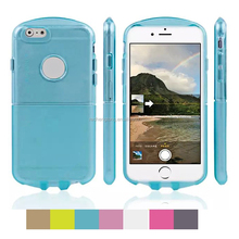 Cheap clear color Out Space Cartoon Robot Clear Soft TPU Gel Phone Case Cover for iphone 6