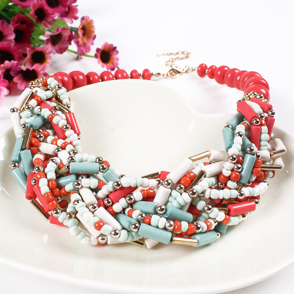 Wholesale 2015 traditional african beads jewelry set red coral bead